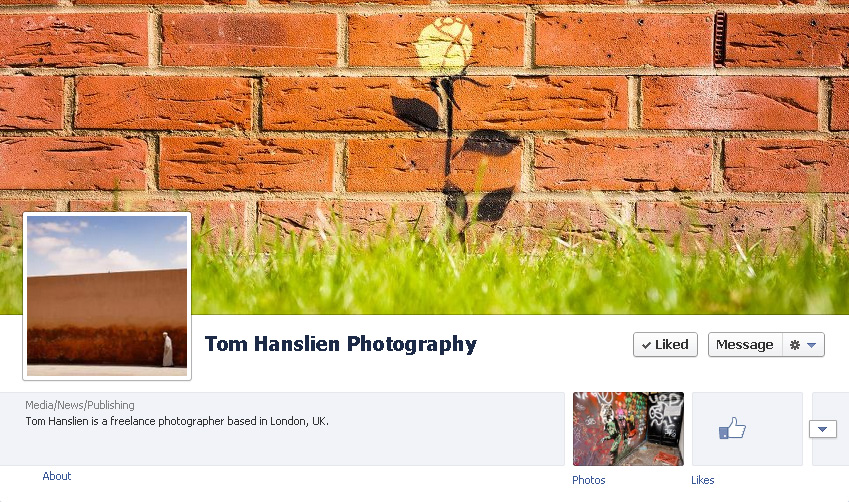 My Facebook page. Tom Hanslien Photography | Please visit – and like – my Facebook page.